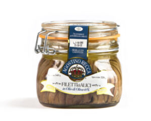 Anchovis in Olive Oil