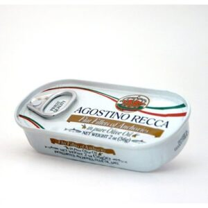 Anchovies fillet in Olive Oil Tins