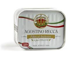 Anchovies fillet in Olive Oil Tin