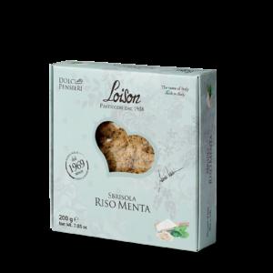 Sbrisola Cake Rice Flour and Mint