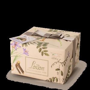 Panettone Licorice & Saffron Fiori