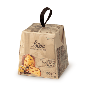 Panettoncino Marron Glacè in box 100g Mignon