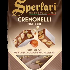 Soft Chocolate Nougat Bites With Hazelnuts